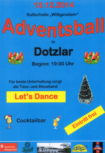 Adventsball 2014